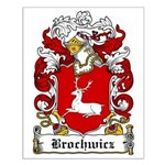 Brochwicz Family Crest Small Poster