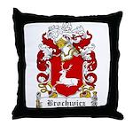 Brochwicz Family Crest Throw Pillow