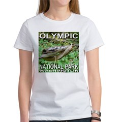 Kissing Slugs? Look Again. Olympic NP Women's T-Sh