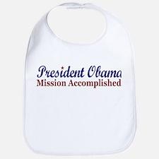 President Obama Mission Accomplished Bib