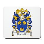 Brodzik Family Crest Mousepad