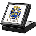 Brodzik Family Crest Keepsake Box