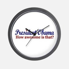 President Obama Awesome Wall Clock