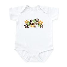Kaylee - Fall Flowers Infant Bodysuit