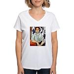 Greta Women's V-Neck T-Shirt