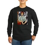 Greta Long Sleeve Dark T-Shirt