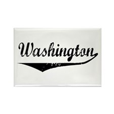Washington Rectangle Magnet