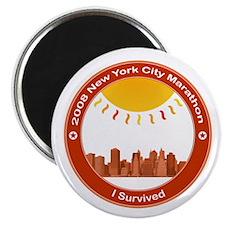 "New York Marathon - I Survived 2.25"" Magnet (100 p"