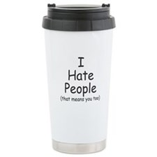 I Hate People - Travel Mug
