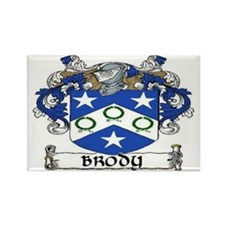 Brody Coat of Arms Rectangle Magnet (10 pack)