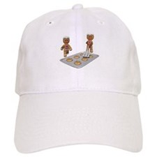 GINGERBREAD MEN DEFENSE Baseball Cap