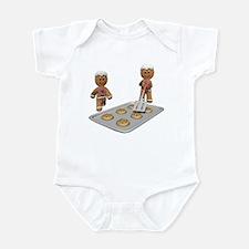 GINGERBREAD MEN DEFENSE Infant Bodysuit