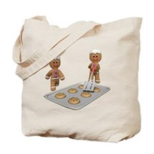 GINGERBREAD MEN DEFENSE Tote Bag