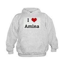 I Love Amina Hoody