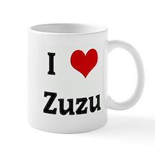 I Love Zuzu Mug