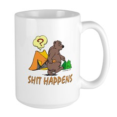 Shit Happens Large Mug