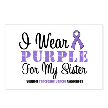 I Wear Purple (Sister) Postcards (Package of 8)