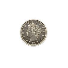 1913 Liberty Head Nickel Mini Button (10 pack)