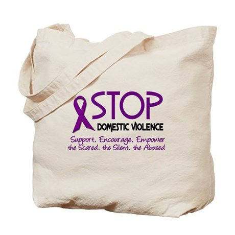 Stop Domestic Violence 2 Tote Bag
