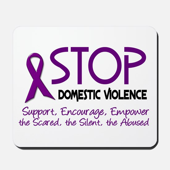 Stop Domestic Violence 2 Mousepad