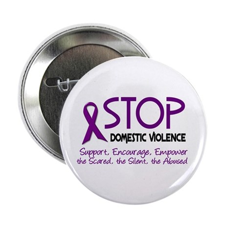 "Stop Domestic Violence 2 2.25"" Button (100 pack)"