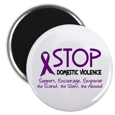 Stop Domestic Violence 2 Magnet