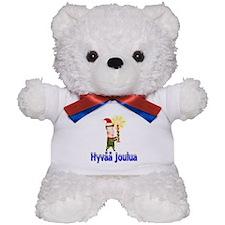 Hyvää Joulua Teddy Bear