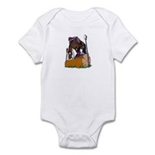Event Horse Log Jump Infant Bodysuit