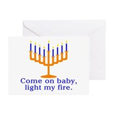 Come on Baby, Light My Fire Greeting Cards (Pk of