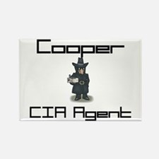 Cooper - CIA Agent Rectangle Magnet
