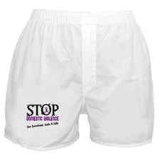 Stop Domestic Violence 2 Boxer Shorts