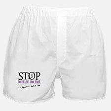Stop Domestic Violence 2 Boxer Shorts