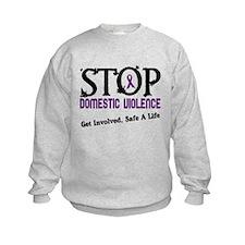 Stop Domestic Violence 2 Sweatshirt
