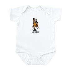 Dressage Queen Horse Infant Bodysuit
