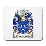 Brzozowski Family Crest Mousepad