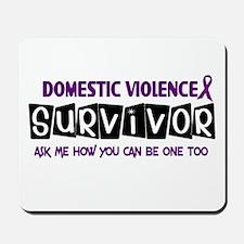 Domestic Violence Survivor 1 Mousepad