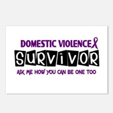 Domestic Violence Survivor 1 Postcards (Package of