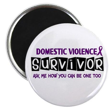 Domestic Violence Survivor 1 Magnet