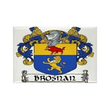 Brosnan Coat of Arms Rectangle Magnet (10 pack)