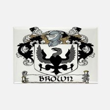 Brown Coat of Arms Rectangle Magnet (10 pack)
