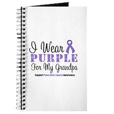 I Wear Purple (Grandpa) Journal
