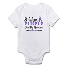 I Wear Purple (Grandma) Infant Bodysuit