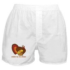 Thanksgiving Gobble Boxer Shorts