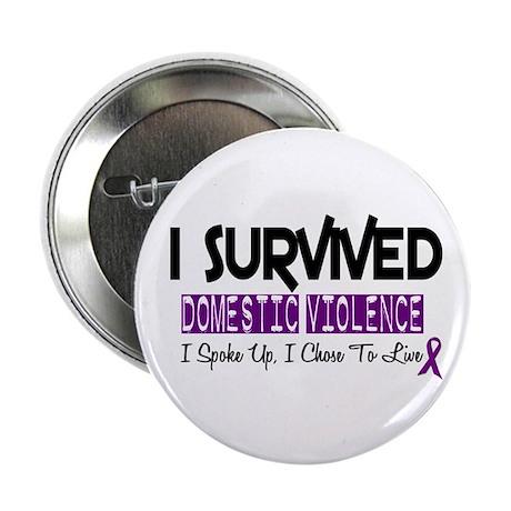 "Domestic Violence Survivor 2 2.25"" Button"