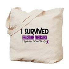 Domestic Violence Survivor 2 Tote Bag