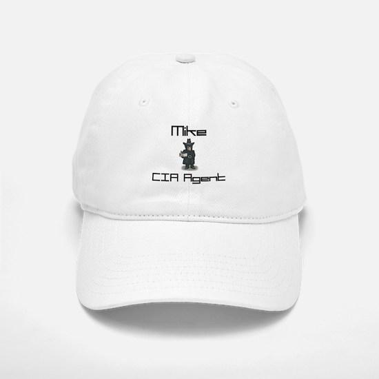 Mike - CIA Agent Baseball Baseball Cap