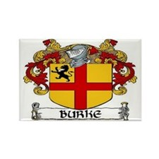 Burke Coat of Arms Rectangle Magnet (10 pack)