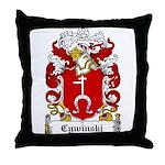 Cywinski Family Crest Throw Pillow