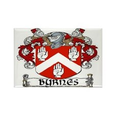 Byrnes Coat of Arms Rectangle Magnet (10 pack)