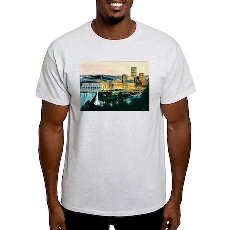 Pittsburgh at Dusk Light T-Shirt